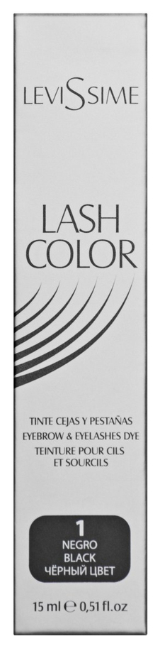 Купить Краска для бровей LeviSsime Lash Color №1 Черный 15 мл