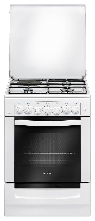 Комбинированная плита GEFEST ПГЭ 6112 02 White