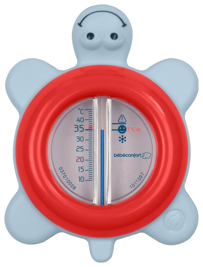 3107201700, Термометр для ванны Bebe Confort Черепашка Красный, Аксессуары для купания  - купить со скидкой