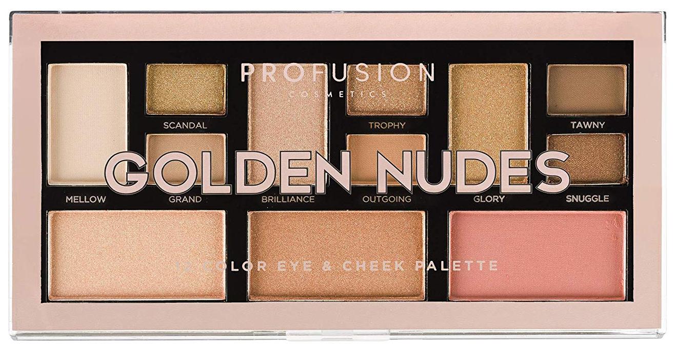 Набор для макияжа PROFUSION Golden Nudes Color