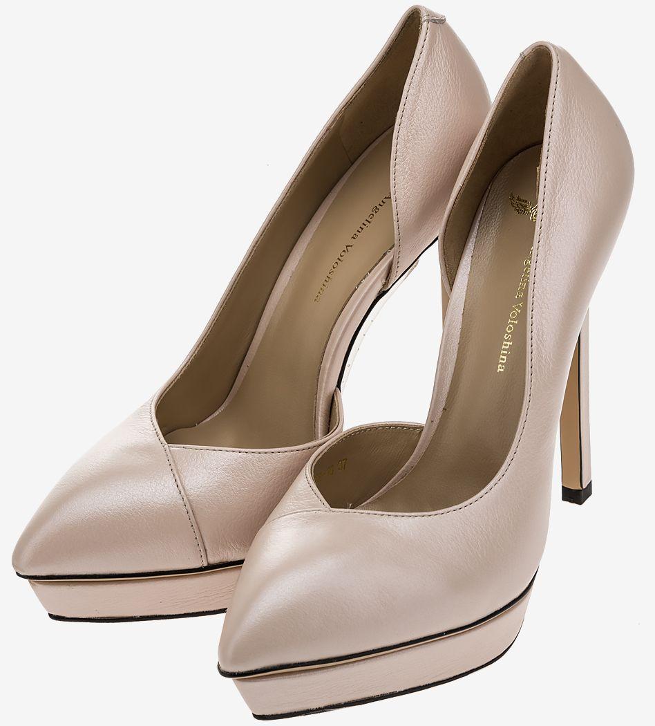Туфли женские Angelina Voloshina розовые