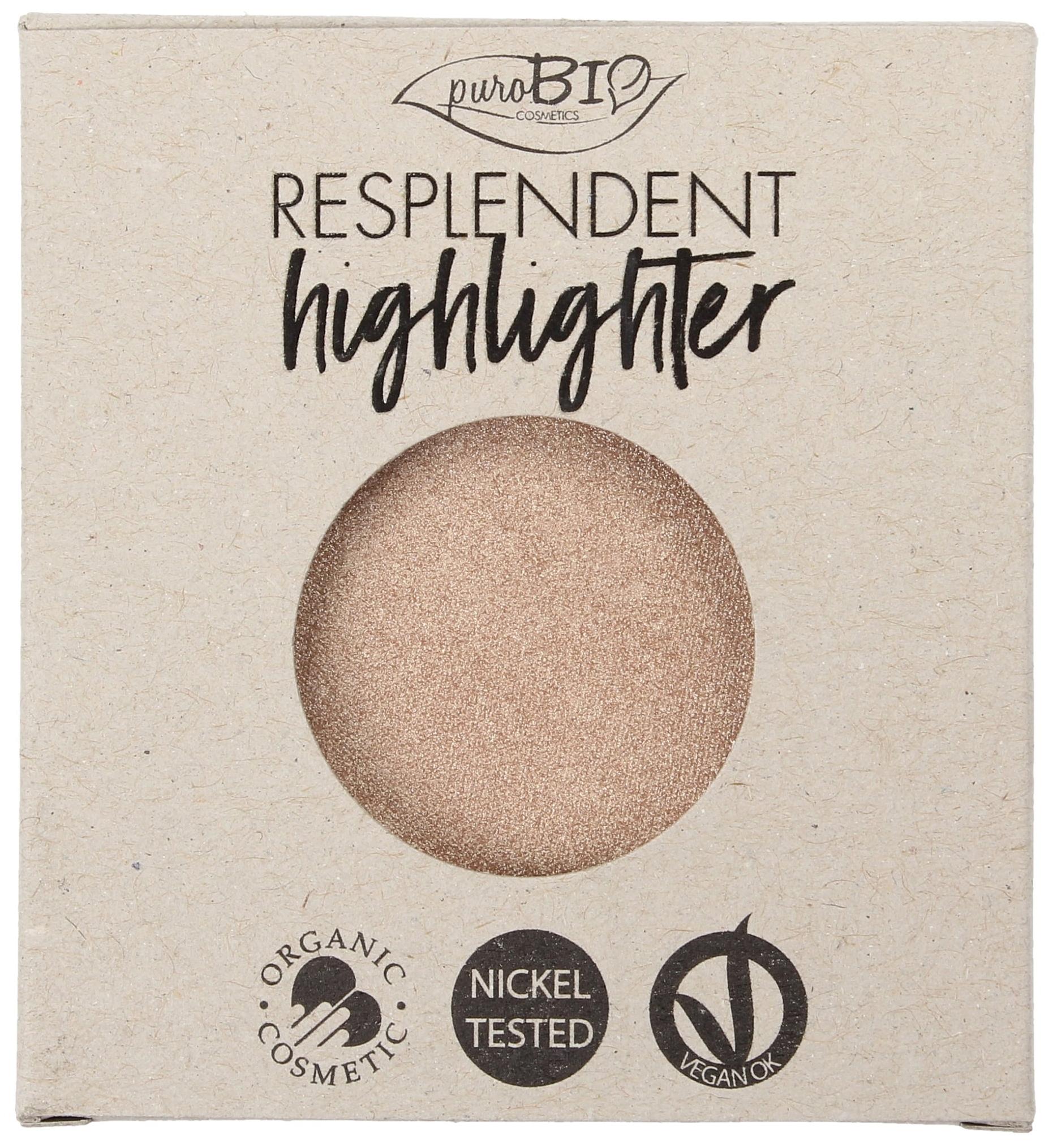 Хайлайтер PuroBio Resplendent Highlighter Refill 01 шампанское