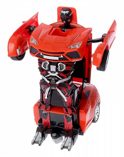 Купить Робот-трансформер р/у Кроссовер (на аккум. свет, звук), Jia Qi, Радиоуправляемые роботы