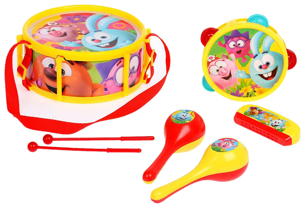 Купить Музыкальные инструменты Смешарики , 5 предметов Sima-Land, Детские музыкальные инструменты