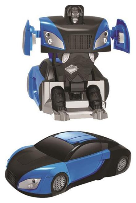 Антигравитационная машина-робот р/у, аккум., 3D передвижение: пол, стены, потолок, син.