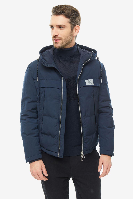 Куртка мужская Armani Exchange 6GZBG2 ZNG1Z 1583 синяя 2XL фото