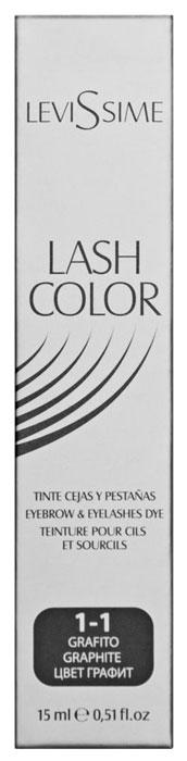 Купить Краска для бровей Levissime Lash Color Графит 15 мл