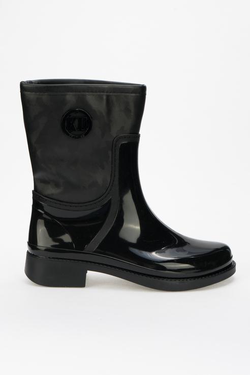 Резиновые сапоги женские Keddo 898369/01 черные 36 RU