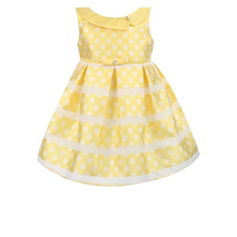 Купить Платье MAYORAL, цв. желтый, 98 р-р, Детские платья и сарафаны