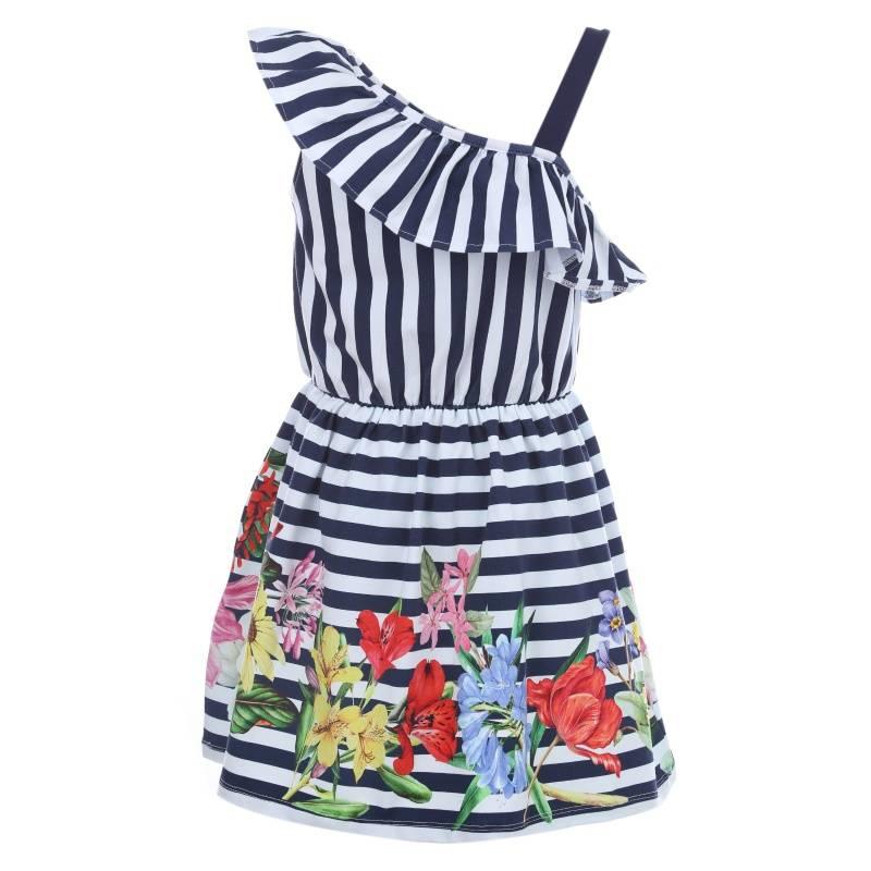 Купить Платье MAYORAL, цв. темно-синий, 152 р-р, Детские платья и сарафаны