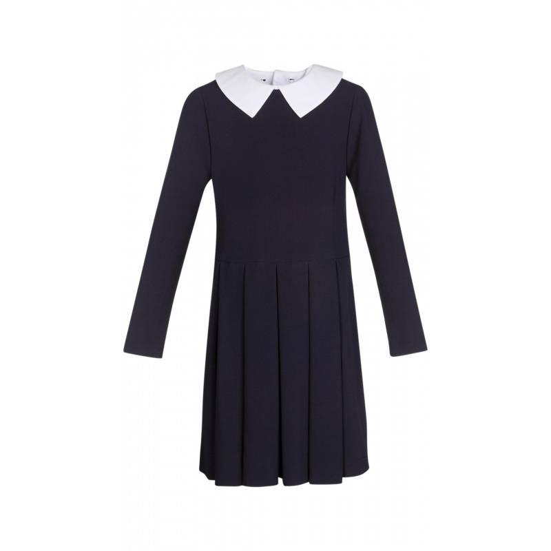 Купить ШФ-1053, Платье SkyLake, цв. темно-синий, 38 р-р, Платья для девочек