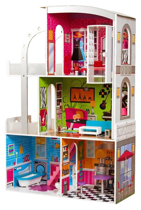 """Кукольный дом """"Творческий интерьер"""" Sima-Land"""