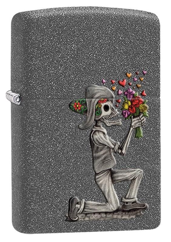 Зажигалка Zippo Влюбленные зомби Iron Stone фото
