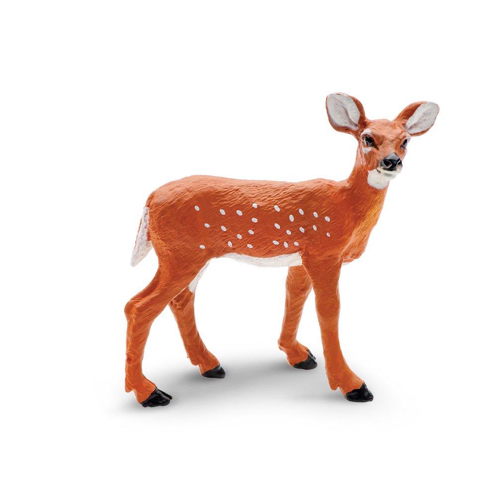Купить Фигурка Safari Ltd Белохвостый олень (детеныш), Игровые фигурки