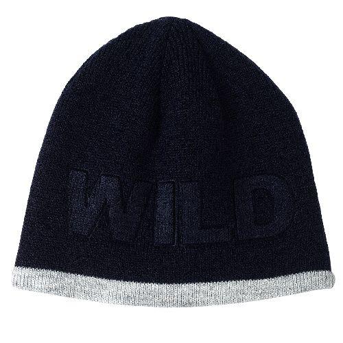 Купить Шапка двухсторонняя Chicco Bwild для мальчиков р.3 цвет тёмно-синий, Детские шапки