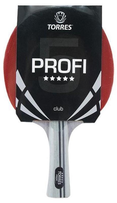 Ракетка для настольного тенниса Torres Profi 5, Профессиональный TT0009 фото