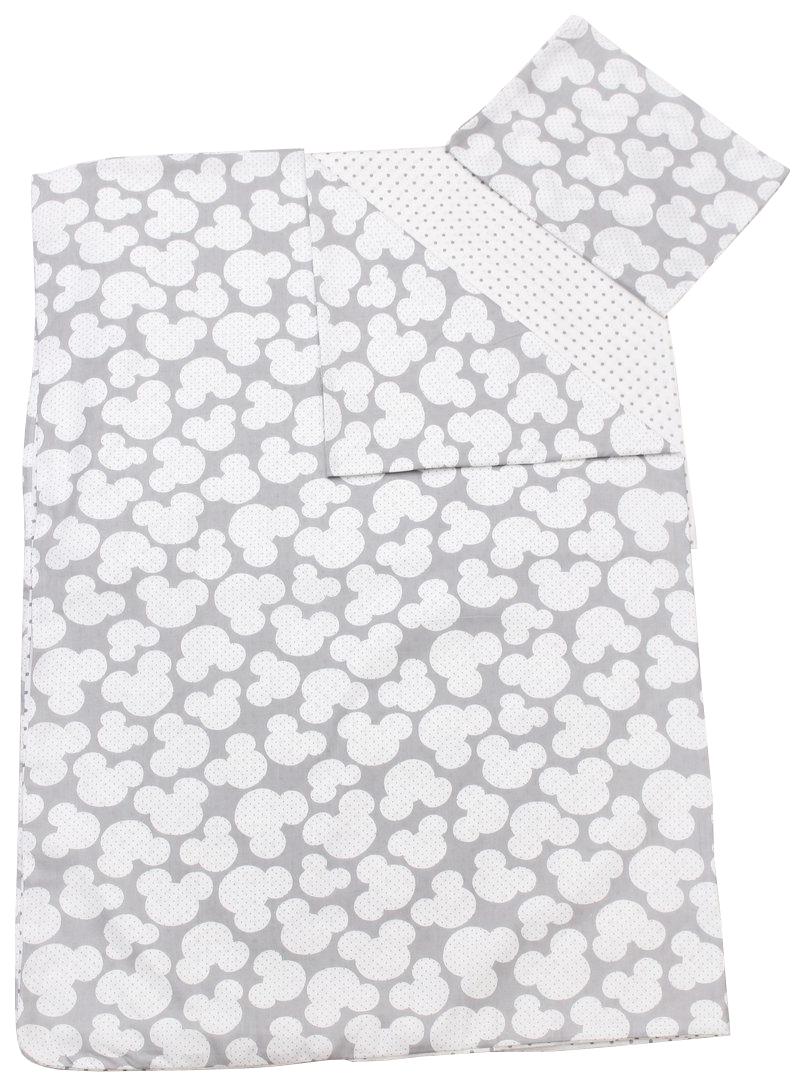 Комплект детского постельного белья AmaroBaby TIME TO SLEEP Мышонок Серый