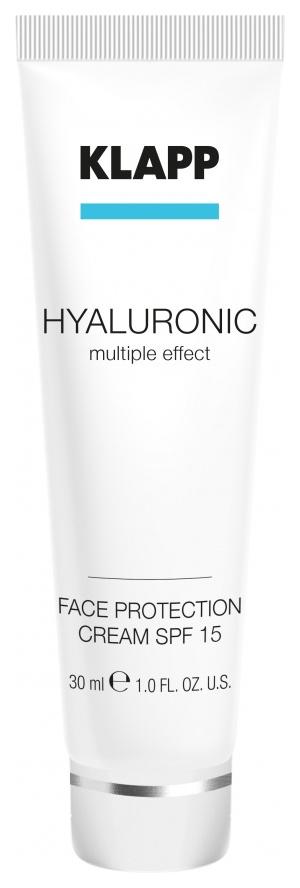 Солнцезащитный крем Klapp HYALURONIC Face Protection Cream
