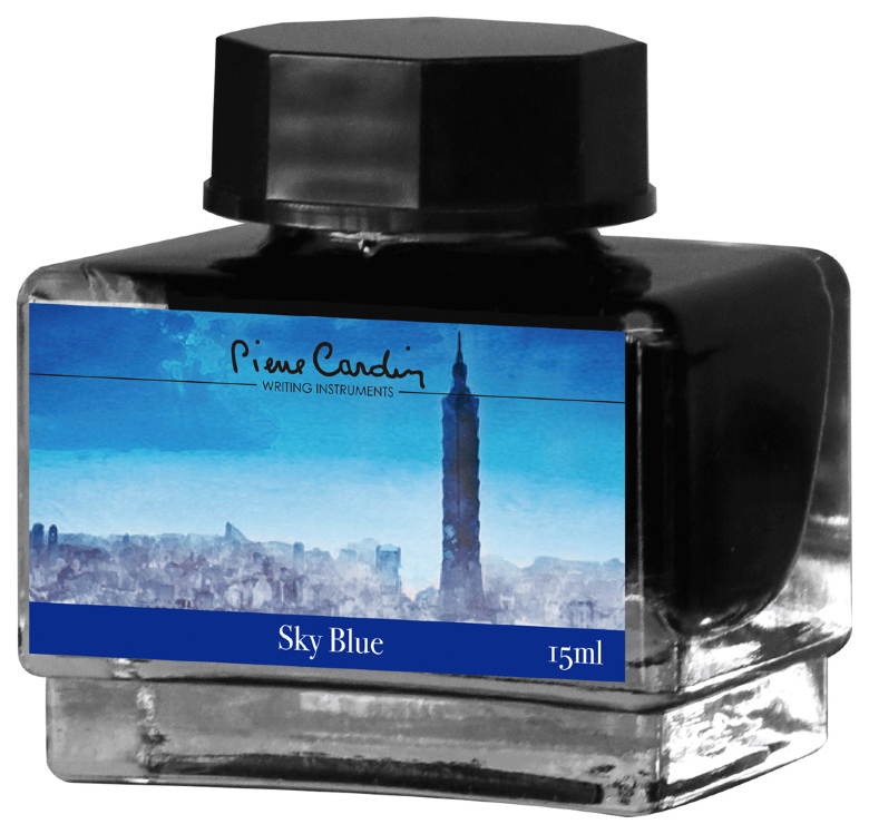 Чернила Pierre Cardin City Fantasy Sky Blue 15 мл
