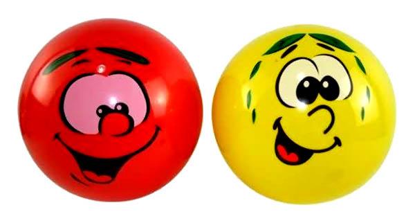 Купить Мяч резиновый Junfa toys 23 см в ассортименте, Детские мячи