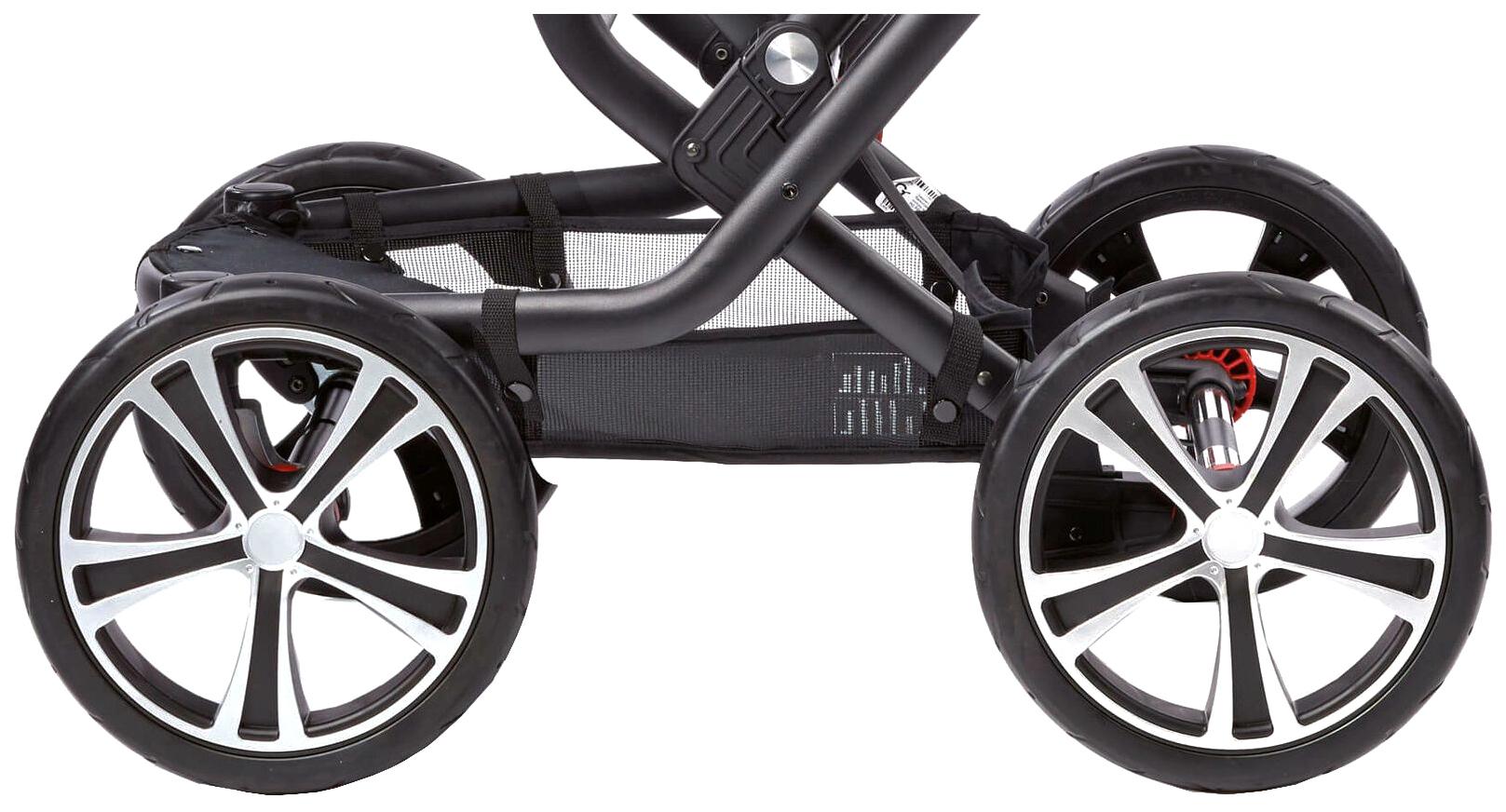 Купить GESSLEIN Колеса передние для F6 SCHWARZ Черный 12 дюймов, Запчасти для колясок