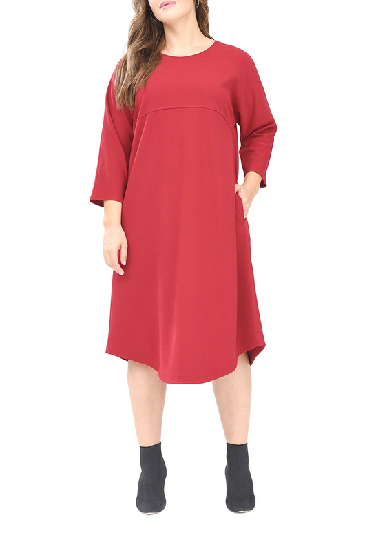 Платье женское SVESTA RKL895ROUF красное 54 RU фото