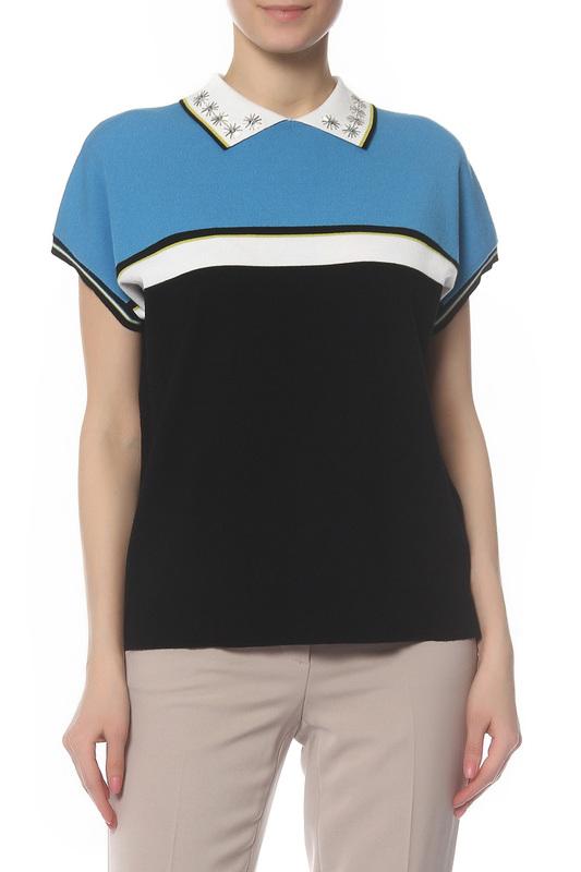 Блуза женская Laurel 21132/4900 черная 36 DE