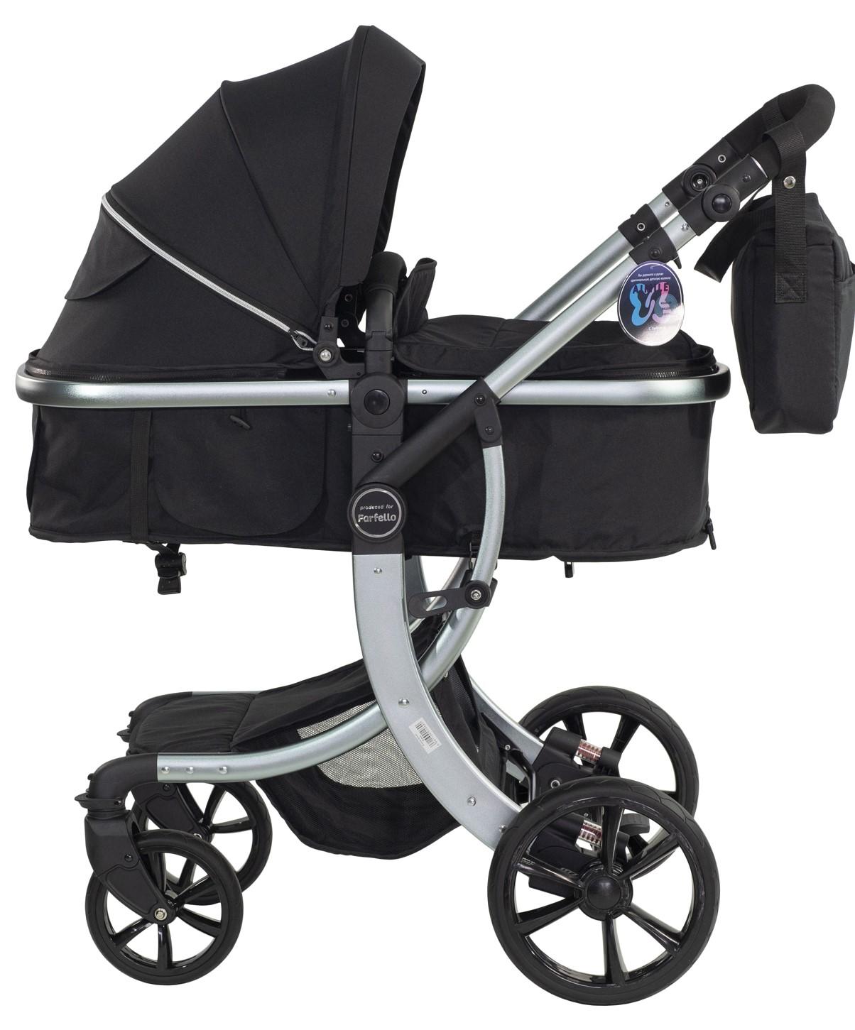 Купить Коляска трансформер Aimile Silver, ТM Farfello, черный, FTS-10, Детские коляски трансформеры