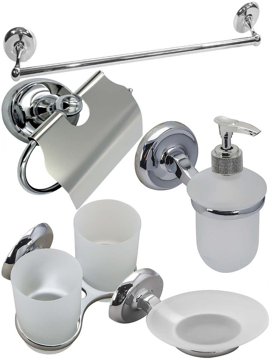 Набор для ванной комнаты BATH PLUS CITY ST-73Oz-3