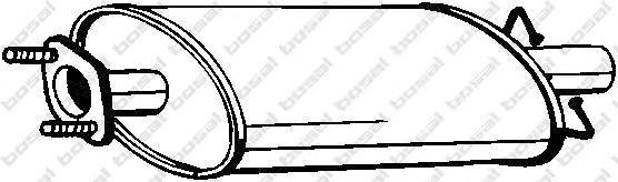 Резонатор Bosal 154459