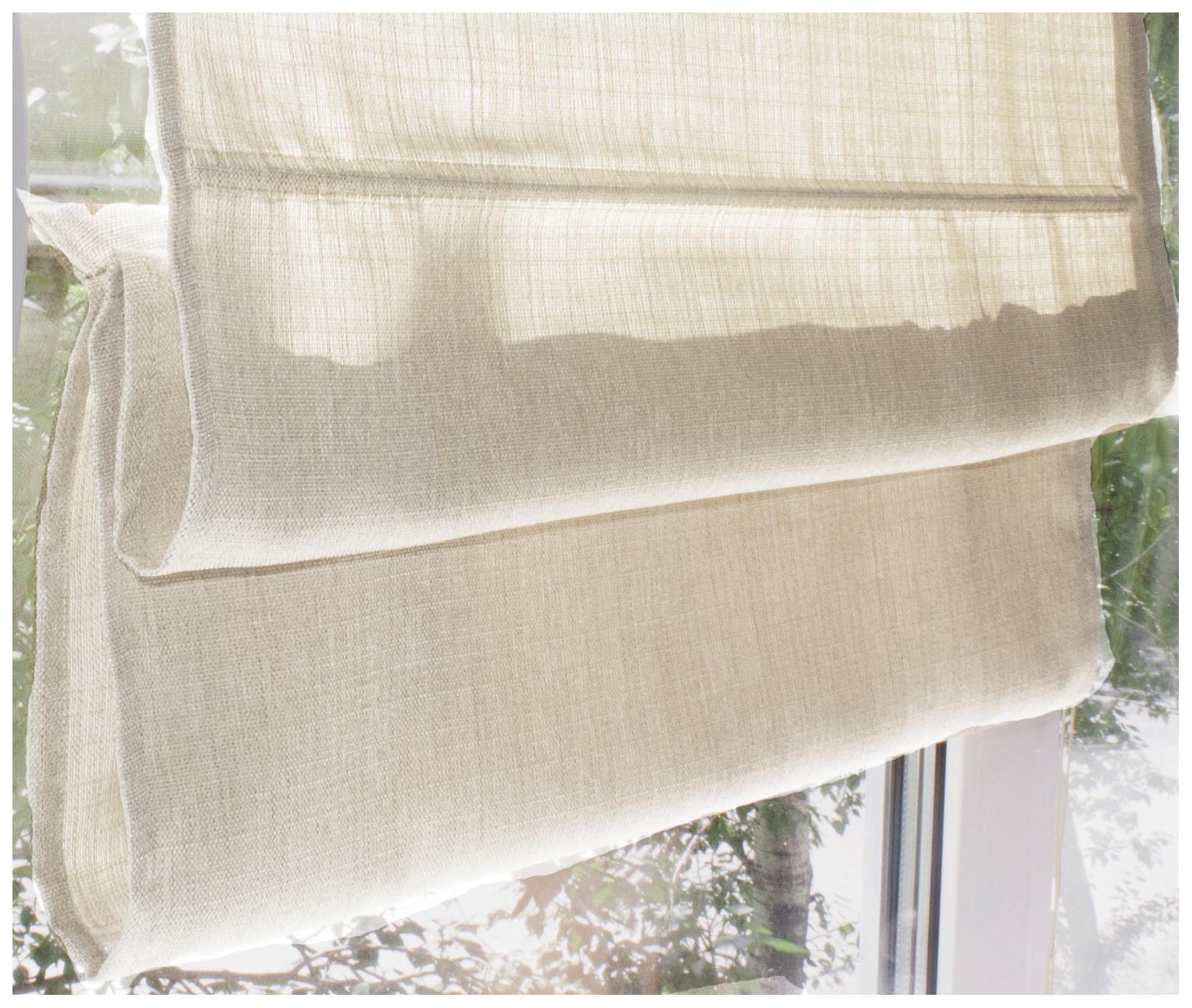 Римская штора Эскар Ballard 160х60 цвет кремовый