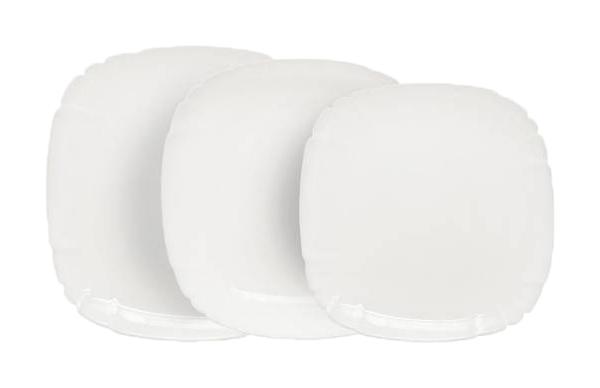 Столовый сервиз Luminarc Lotusia Н3527 Белый
