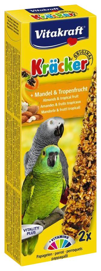 Лакомство для птиц Vitakraft, миндаль, фрукты, 2шт,