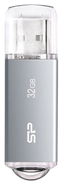 SILICON POWER 32GB ULTIMA II-I SPACE GRAY (SP032GBUF2M01V1TB6)