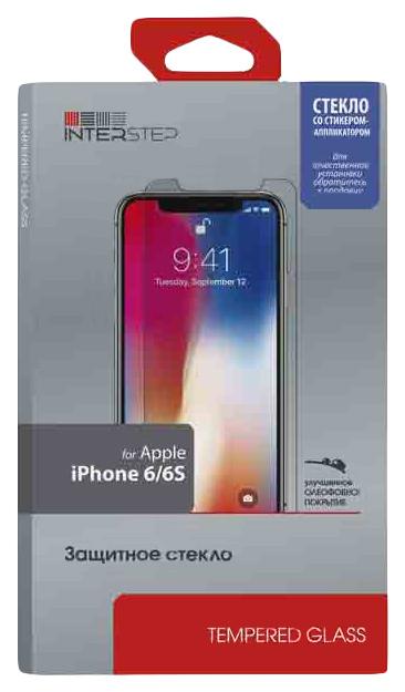 Защитное стекло InterStep для Apple iPhone 6/iPhone