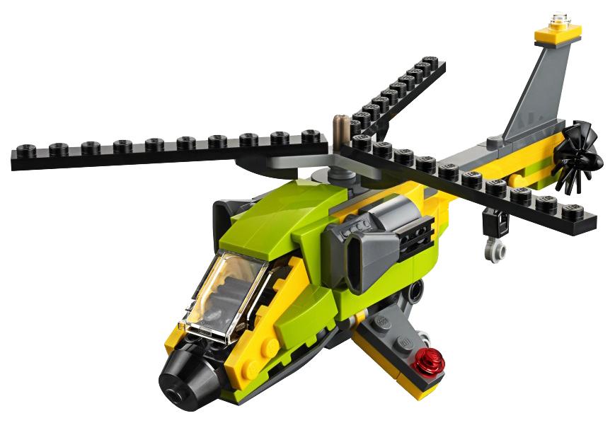Купить Конструктор lego creator 31092 приключения на вертолёте, Конструктор LEGO Creator 31092 Приключения на вертолёте