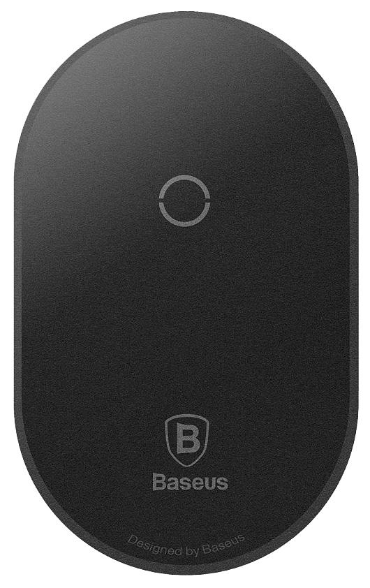 Беспроводное зарядное устройство Baseus Microfiber Qi Black