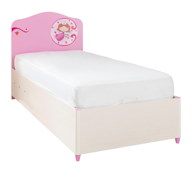 Кровать с подъемным механизмом Cilek 90х190 Princess SL фото
