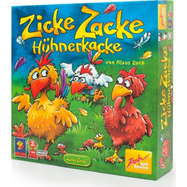 Настольная игра Zoch Цыплячьи бега Zicke Zacke Huhnerkacke