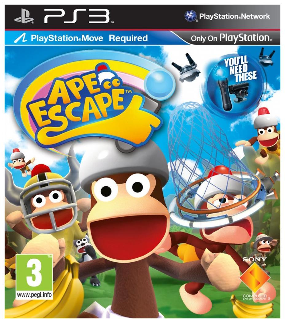 Игра Ape Escape для PlayStation 3