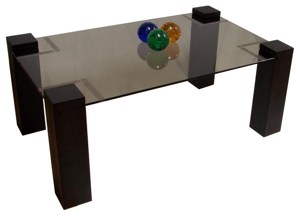 Журнальный столик Мебелик Приз 2Н 1760 100х60х42 см, венге/тонированное