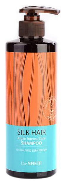 Шампунь The Saem Silk Hair Argan Intense Care Shampoo 380 мл