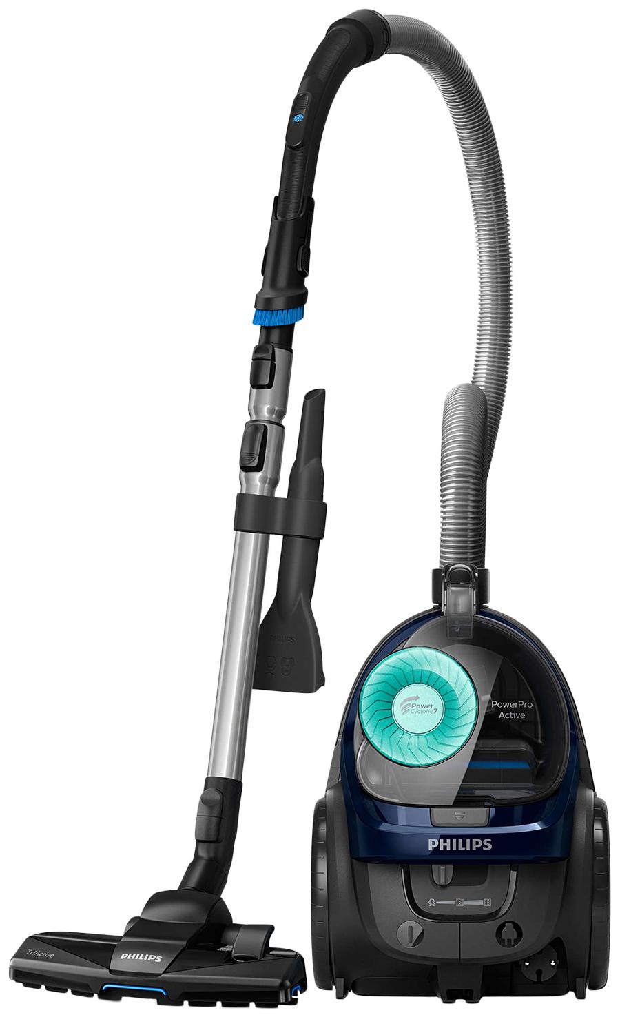 Пылесос Philips PowerPro Active FC 9573/01 Grey/Blue фото