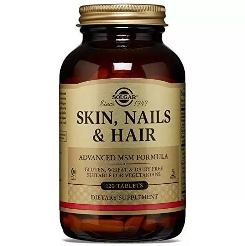 Для кожи ногтей и волос Solgar таблетки 120 шт.