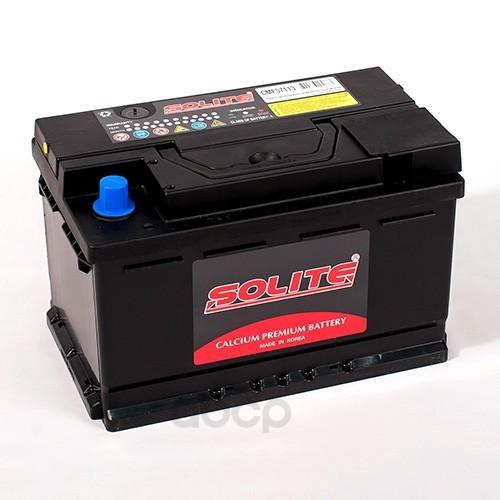 Аккумулятор автомобильный Solite CMF57113 71А/ч 670А полярность обратная фото