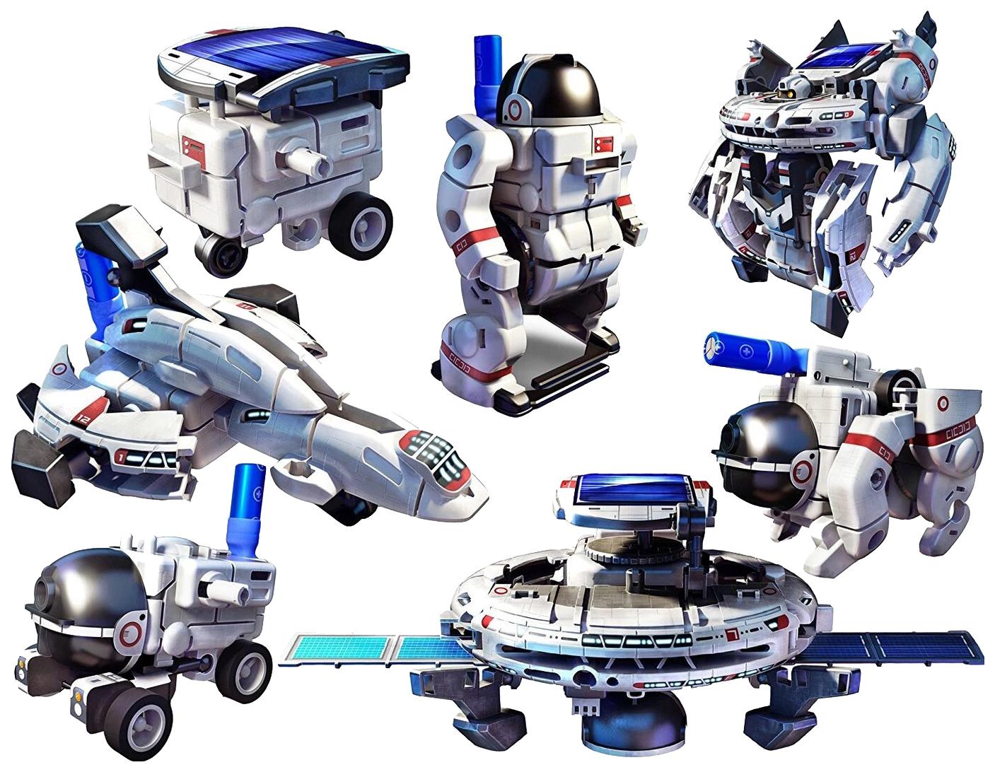 Набор для исследования OCIE 7 в 1: Космический флот на солнечных батареях