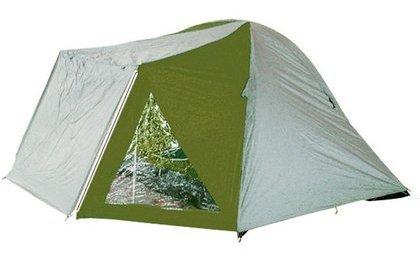 Палатка Camping Life Life Sana четырехместная серая/зеленая