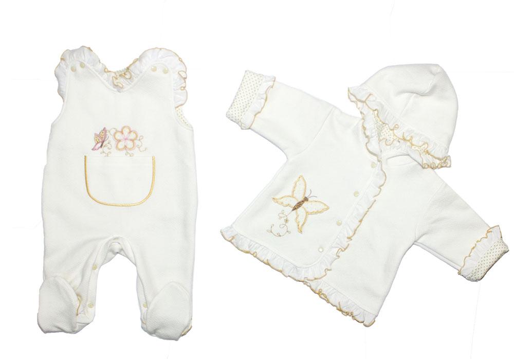 Комплект одежды Осьминожка, цв. белый р.80