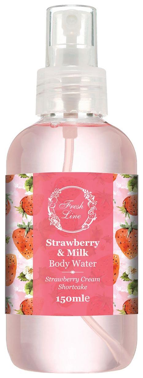 Средство для тела Fresh Line Strawberry