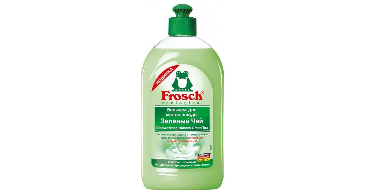 Бальзам Frosch для мытья посуды зеленый